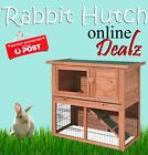 2 Storey Rabbit Hutch Cage With Tray & Run Double Two Storey House 915*450*850mm