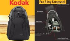 Kodak Pro Sling Knapsack Backpack Case For Sony NEX-5N NEX-6 NEX-6L NEX-F3 NEX-5