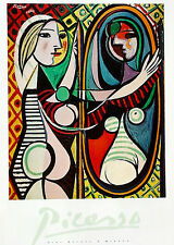 Pablo Picasso•Girl Before A Mirror 1932•High Quality Art Poster 24x36