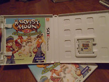 Harvest Moon 3D: A New Beginning Nintendo 3DS COMPLETE HARD TO FIND RARE
