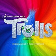 ✭ Trolls CD   Musik zum Kinofilm mit Regenbogen Mark Forster & Lena ✭