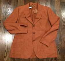 2,200$ Loro Piana Light Linen Blazer Size EU 58 or US 48 Made in Italy