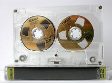"Souvenir Reel to Reel ""Yamaha"" Gold cassette tape self-made !"