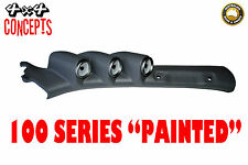 "to suit Toyota Landcruiser 100 series LHD TRIPLE PILLAR POD ""NEW""  PAINTED GREY"