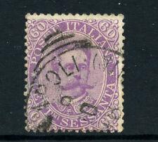 1889 .- ITALIA REGNO - LOTTO/24791 - 60 cent. VIOLETTO UMBERTO I° - USATO