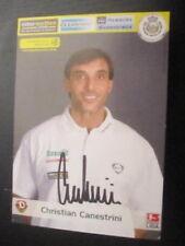 12169 Christian Canestrini Dynamo Dresden original signierte Autogrammkarte
