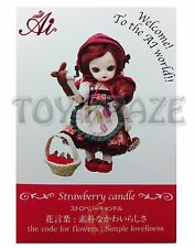 JUN PLANNING AI BALL JOINTED DOLL STRAWBERRY CANDLE A-723 FASHION PULLIP GROOVE