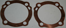 2 Harley Sportster 900cc Copper Head Gasket 1957-71 XL #16769-57 Cast Iron (122)