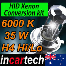 2 x H4 Hi/Lo 35W 6000K HID Xenon Conversion KIT with Super Slim Digital Ballast