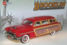 Brooklin BRK 188, 1954 Mercury Monterey Station Wagon Woodie, red, 1/43 - deleted