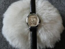 Swiss Made 17 Jewels Vintage Villereuse Ladies Wind Up Watch - Not Working