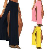 Novelty Skirt Sexy Women Long Skirts Lady Split Skirt High Waist Long Maxi Skirt