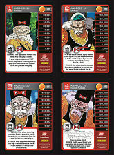 Android 20 Lv1-4 Set 4 Main Personality Lot MP Villain Panini Evolution DBZ CCG