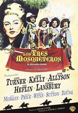 THE THREE 3 MUSKETEERS (1948) **Dvd R2** Gene Kelly, Lana Turner,