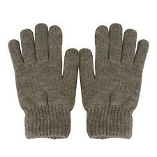 Men's Everyday Winter Thick Knit Thinsulate 3M Warm Snow Ski Gloves Gray M/L