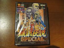 Fatal Fury Special CIB SNK NeoGeo Neo Geo AES Japan Version  #192