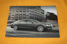 Bentley Flying Spur 2013 Prospekt Brochure Prospetto Catalog Folder Prospect