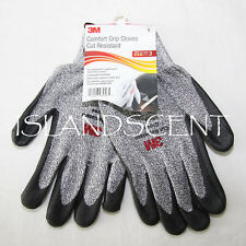 3M Comfort Grip Gloves CGL-CR, Cut Resistant ANSI 3, Size L Pair of Gloves