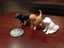 PLAYMOBIL Dogs Labrador Pair Animal Figure Noah's Ark
