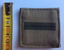 Militaire GALON VELCRO TISSU Grade Insigne Militaria Grade De Poitrine