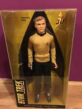 Barbie Star Trek 50th Anniversary Captain Kirk Doll Black Label Brand New