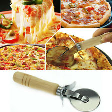 Wheel Cutter Slicer Knife Pizza Handle Stainless Kitchen Tool New Cutting Tools