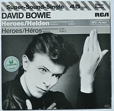 "David Bowie Heroes RARE GERMAN 12"" Single IN GREAT CONDITION"