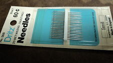 Hand Sewing needles by Dritz, Betweens #7, 2 packages, 20 count, Made in England