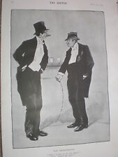 The Degenerates by Dudley Hardy 1903 old print ref W2