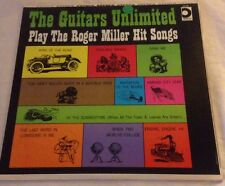 The Guitars Unlimited Play The Roger Miller Hit Songs Vinyl LP