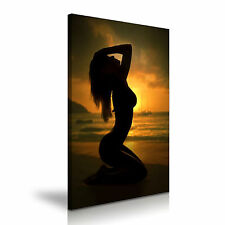 Nude Erotic Sexy Woman Body Canvas Wall Art Picture Print A1 Size 50cmx76cm