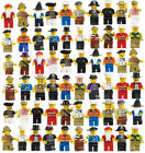 Grab Bag Lot of Minifigures Figures Men People Minifigs from City Sets 20 Pcs