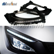 Car Daytime Running Light LED DRL Fog Lamps Cover for Kia Optima K5 2011 12 2013