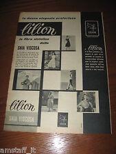 *6=LILION SNIA VISCOSA=ANNI '50=PUBBLICITA'=ADVERTISING=WERBUNG=PUBLICITE=