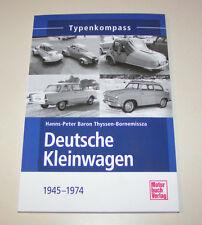 Deutsche Kleinwagen Goliath, Kroboth, Lloyd, DKW, Trippel, NSU - Typenkompass!