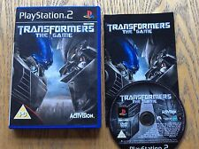 Transformers The Movie Ps2 Game! Complete! Look At My Other Games!