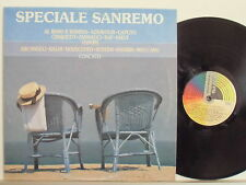 SANREMO 1989 LP 33 g. RAF BALDI ORNELLA VANONI ENZO JANNACCI SHARKS VASCO ROSSI