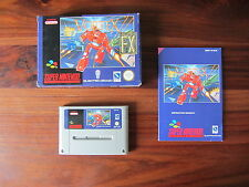 VORTEX         -----   pour SUPER  NINTENDO / SNES  -- PAL