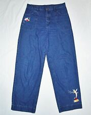 Tinker Bell Jeans Disney Store Medium 32W x 30L Embroidered