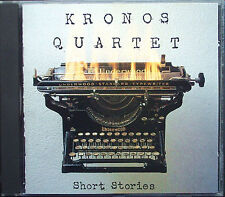 KRONOS QUARTET SHORT STORIES Sharp Dixon Gubaidulina Oswald Zorn Cowell Nath CD