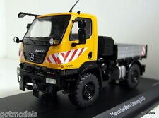 Schuco 1/43 Scale 03277 Mercedes Benz Unimog U20 Orange diecast model truck