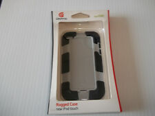 BLACK / GRAY GRIFFIN RUGGED CASE FOR iPOD TOUCH GEN 4 HARDSHELL NEW
