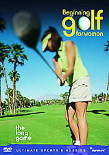 BEGINNING GOLF FOR WOMEN THE LONG GAME GENUINE R0 DVD NEW/SEALED