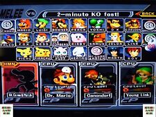 Memory Card  Super Smash Bros Brothers Melee Gamecube Everything Unlocked +BONUS