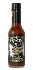 Dr Burnorium Psycho Juice 148ml Extreme Ghost Pepper Very Hot Chilli Sauce Gift