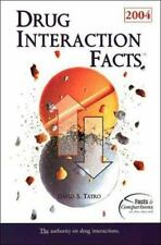 Drug Interaction Facts 2004 by David S. Tatro (2003, Hardcover)
