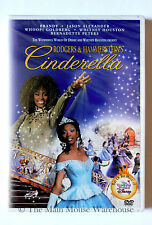 Disney Live Action Cinderella Movie DVD Brandy Whitney Houston Whoopi Goldberg