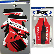 Factory Effex EVO 14 Graphics Forks Honda CR 250 CR250 95 96 Shrouds Tank NEW
