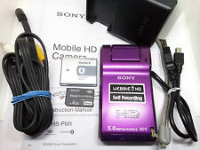 Sony MHS-PM1 Mobile HD Snap Shop Digital Still Camera Video Camcorder Webbie