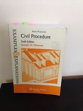 Civil Procedure, 6th Edition (Examples & Explanations), Glannon